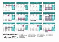 ferien thüringen 2019 kalender ferien baden w 252 rttemberg 2019 ferienkalender 220 bersicht