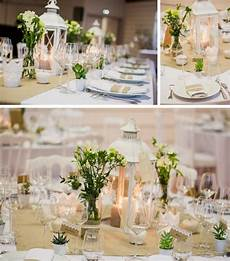 deco centre de table mariage lanterne centre de table d 233 co de table et dentelle lanterne centre de table d 233 coration