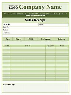 ms word receipt template software 7 free sales receipt templates in ms word format one