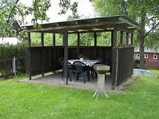 überdachte sitzecke im garten ferienwohnung in hinterhermsdorf s 228 chsische schweiz
