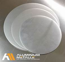 aluminium blech ronde blechscheibe rund al99 zuschnitt