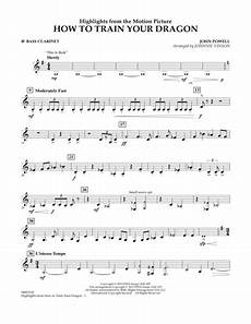 download highlights from how to train your dragon bb bass clarinet sheet music by john powell
