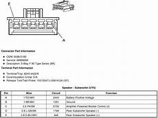 Gm 2008 Cadillac Escalade Ecm Wiring Diagram X1