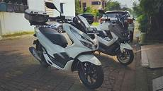 Modifikasi R 2018 by Modifikasi Simple Honda All New Pcx 2018 Versi Touring