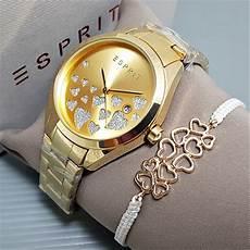 Jam Tangan Esprit Gelang jual jam tangan wanita cewek esprit paket rantai gold