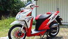 Modifikasi Vario Techno 125 by Modifikasi Vario Techno 125 Orange Modify 4