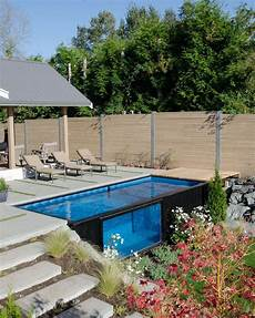 Container Als Pool - take a dip in modpools shipping container swimming pool
