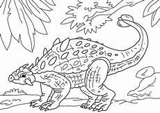 Ausmalbilder Dinosaurier Ankylosaurus Malvorlage Dinosaurier Ankylosaurus Kostenlose