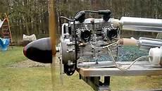 Zweizylinder Reihenmotor 2x26 Ccm Eigenbau