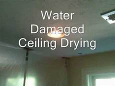 nasse wand trocknen water damaged ceiling drying ceiling out 978 392
