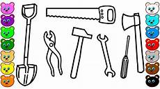 building tools coloring pages for