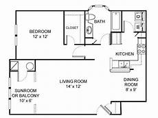 750 square foot house plans 2d floor plan image 1 for the 1 bedroom 1 bathroom 750