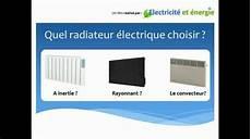 Avis Choix Des Radiateurs Electriques Le Test 2020