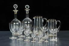 servizio di bicchieri servizio di bicchieri in cristallo completo di brocche e
