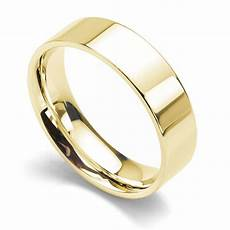 medium weight flat court wedding ring