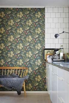 papier peint fleuri style anglais