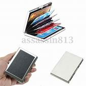 Credit Card Holder Protection Case IMS RFID Blocking Thin
