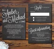 Chalk Wedding Invitations design your wedding invitations chalkboard