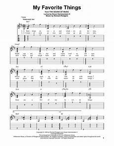 my favorite things sheet music direct