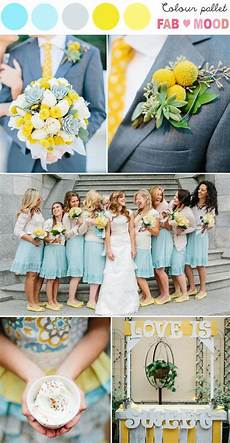 blue yellow wedding colors blue and yellow wedding palette