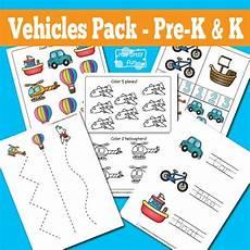 vehicles worksheet for preschool 15244 vehicles printable preschool and kindergarten pack transportation theme preschool free