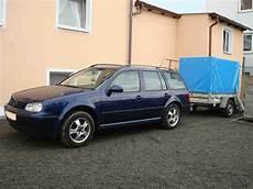 volkswagen golf anhängelast knapp 2 tonnen split anh 228 ngelast bora variant 1 9tdi
