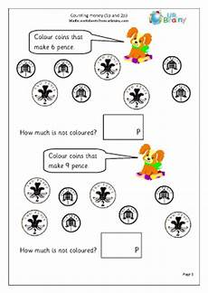 counting money worksheets reception 2314 counting coins