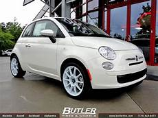 fiat 500 with 17in sparco aresto wheels exclusively from