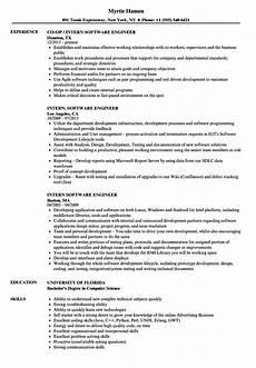 10 engineering resume exles internship cover letter