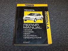 free car repair manuals 1989 toyota truck xtracab sr5 parking system 1989 toyota corolla workshop shop service repair manual book dx le sr5 gts 1 6l ebay