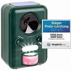 Voss Sonic 2000 Ultraschall Abwehr Solar Blitzlicht