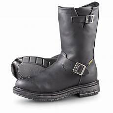 s road wolf waterproof engineer boots black 187848