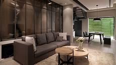 multi level contemporary apartment