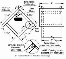wren houses plans wren house bird house plans