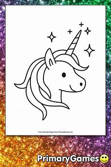 Malvorlagen Unicorn Yellow Sparkling Unicorn Coloring Page Free Printable Ebook In