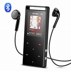 bluetooth mp3 player agptek 16gb bluetooth mp3 player touch screen with fm