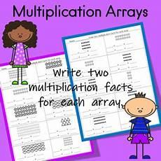 multiplication arrays worksheets grade 2 4847 multiplication arrays worksheets by fluttering through the common k 3
