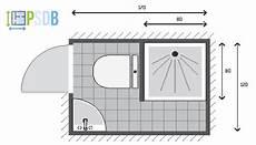 Exemple De Plan De Salle De Bain De 2m2 En 2019