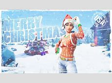 It's always Christmas in Fortnite (1080p Wallpaper