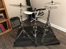 Practice Setup For An Apartment In Nashville Tn Sabian