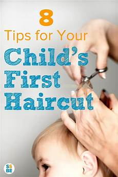 8 tips for your child s first haircut children s