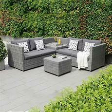 Gartenmöbel Polyrattan Lounge - gartenlounge polyrattan outliv sibuyan 3 tlg loungem 246 bel
