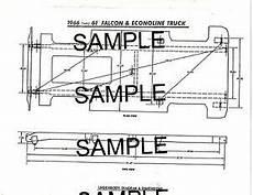 1961 1962 1963 1964 1966 Ford Falcon Econoline Frame