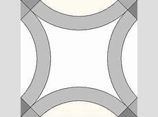 Seeking pattern for solid ring double wedding ring quilt