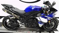 2010 yamaha yzf r1 blue used motorcycle for sale
