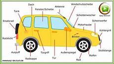 German Words 1 Das Auto The Car Easydeutsch