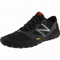 new balance mt20 trail minimus shoe in black for