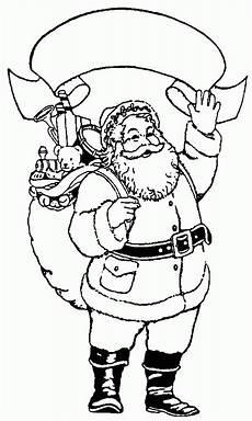 Malvorlagen Weihnachtsmann Gratis Der Weihnachtsmann Ausmalbild Malvorlage Winterbilder