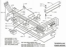 golf club cart wiring diagram 2000 club car wiring diagram electric cartaholics golf cart forum