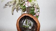 Natur Deko Ausgeh 246 Hlter Baumstamm Als Vase